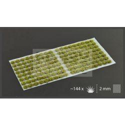Gamers Grass TUFTS Realisztikus Dark Moss 2mm - Sötét moha színű fűcsomók diorámához-Small 144 darab (2 mm self-adhesive -Dark Moss)