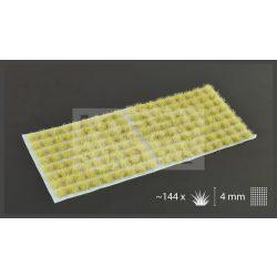 Gamers Grass TUFTS Realisztikus Beige - bézs színű fűcsomók diorámához-Small 144 darb (4 mm self-adhesive - BEIGE)