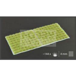 Gamers Grass TUFTS Realisztikus Light Green - világoszöld színű fűcsomók diorámához-Small 144 darab (4 mm self-adhesive - LIGHT GREEN)