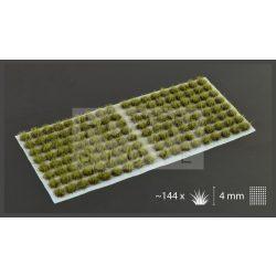 Gamers Grass TUFTS Realisztikus Swamp Green - mocsári zöld színű fűcsomók diorámához-Small 144 darab (4 mm self-adhesive - SWAMP GREEN)