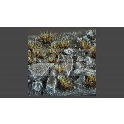 Gamers Grass TUFTS Realisztikus Burn - égett fű színű fűcsomók diorámához (6 mm self-adhesive - BURNED)