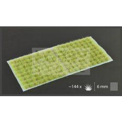 Gamers Grass TUFTS Realisztikus Light Green-világoszöld színű fűcsomók diorámához-Small 144 db (6 mm self-adhesive - Light Green)