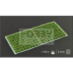 Gamers Grass TUFTS Realisztikus Strong Green-élénkzöld színű fűcsomók diorámához-Small 144 darab (6 mm self-adhesive - Strong Green)