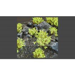GAMERS GRASS SHRUBS TUFTS Realisztikus zöld színű cserjék-bokrok diorámához (4-6 mm self-adhesive - GREEN)