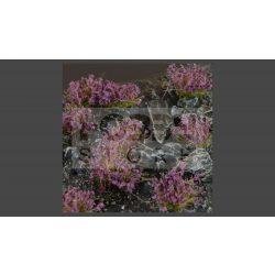 GAMERS GRASS BLOSSOM TUFTS Realisztikus Levendula színű virágcsomók diorámához (4-6 mm self-adhesive - Lavender Flowers)