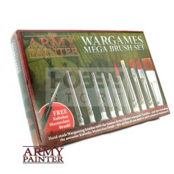 The Army Painter Mega Brush Set -Hobby ecsetkészlet ST5113
