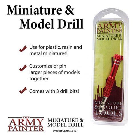 The Army Painter Miiniatűr és makettező fúró készlet (Miniature and Model Drill) TL5031