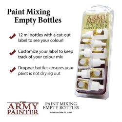 The Army Painter Festékkeverő tégely (Paint Mixing Empty Bottles) TL5040
