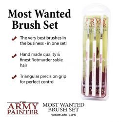 The Army Painter Most Wanted Brush Set -Most Wanted ecsetkészlet TL5043