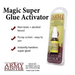 The Army Painter Magic Super Glue Activator - Pillanatragsztó gyorító folyadék TL5048