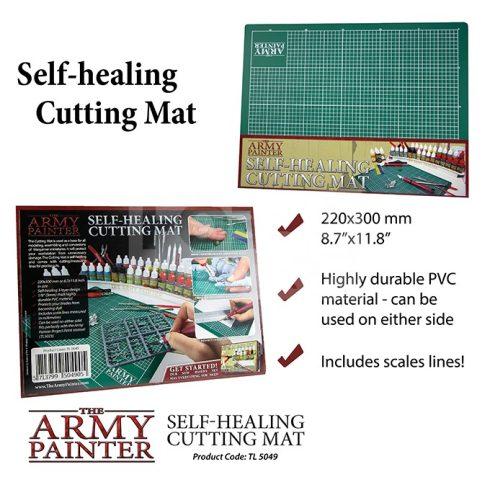 The Army Painter A4 méretű öngyógyuló vágóalátét (Self-healing Cutting Mat ) TL5049