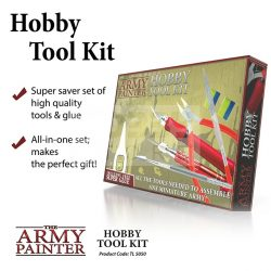 The Army Painter Hobby Tool Kit Set-Hobbi szerszámkészlet TL5050