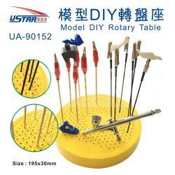 U-STAR Festőcsipesz készlet műanyag forgatható tartóval (Model DIY Rotary table 13 in 1) UA90152