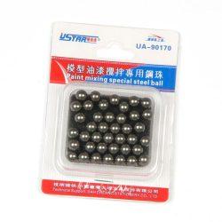 U-STAR Rozdamentes acélgolyó festékkeveréshez (Mini Stainless Steel Ball 45 in 1) UA90170