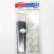 U-STAR Ecset és paletta készlet (Painting Brush & Color Palette Set 10 in 1) UA90251