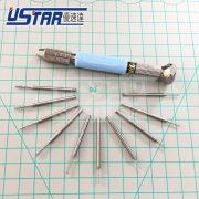 U-STAR Speciális mini kézi fúró fehér acél fúrószárral (U-STAR UA-91305 Special hand drill fot Modeling)