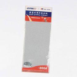 U-STAR 800-as finomságú öntapadós csiszolópapír (Self-Adhesive Abrasive Paper Kit 4 in 1 #800) UA91610