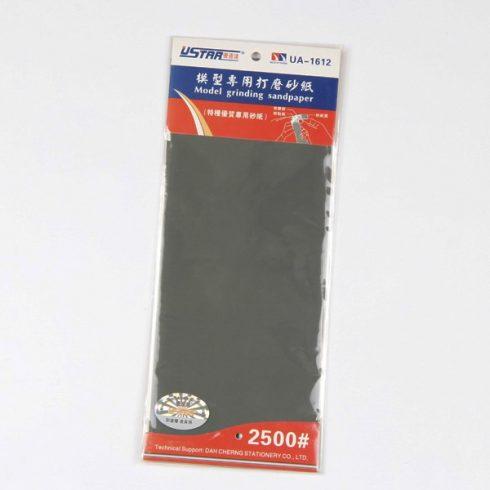 U-STAR 2500-as finomságú öntapadós csiszolópapír (Self-Adhesive Abrasive Paper Kit 4 in 1 #2500) UA91612