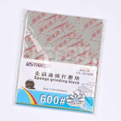 U-STAR 600-as finomságú csiszoló szivacs (Jigsaw Grinding Sponge) UA91626