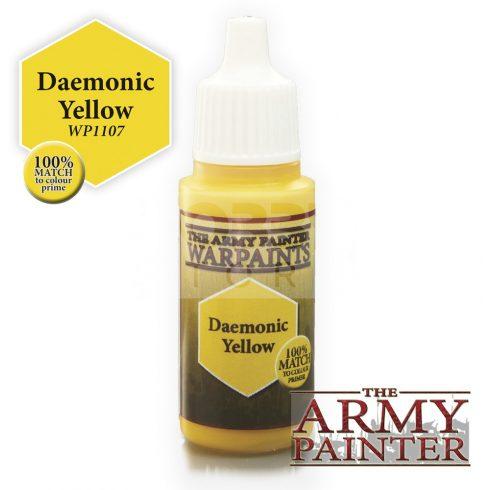 The Army Painter Daemonic Yellow 17 ml-es akrilfesték WP1107