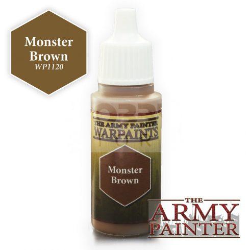 The Army Painter Monster Brown 17 ml-es akrilfesték WP1120