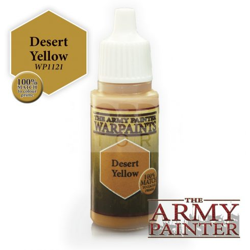 The Army Painter Desert Yellow 17 ml-es akrilfesték WP1121