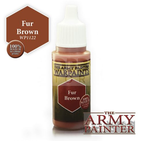 The Army Painter Fur Brown 17 ml-es akrilfesték WP1122