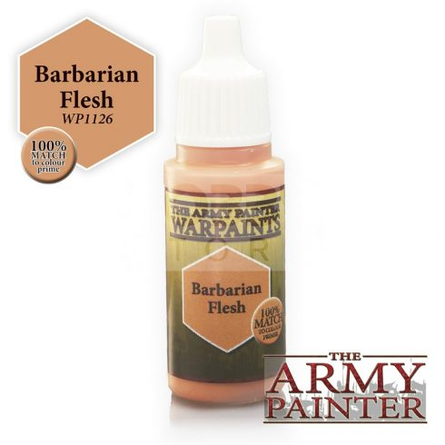 The Army Painter Barbarian Flesh 17 ml-es akrilfesték WP1126