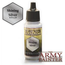 The Army Painter Shining Silver 17 ml-es metál akrilfesték WP1129