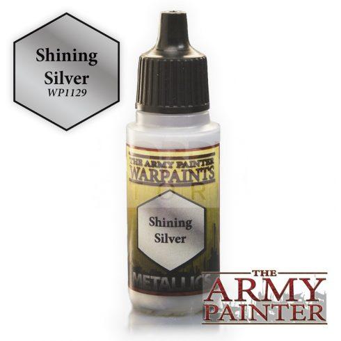 The Army Painter Shining Silver 17 ml-es metál akrilfesték WP1129