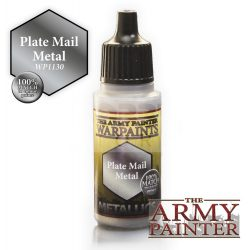 The Army Painter Plate Mail Metal 17 ml-es metál akrilfesték WP1130