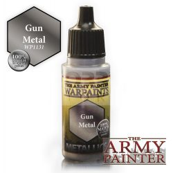 The Army Painter Gun Metal 17 ml-es metál akrilfesték WP1131
