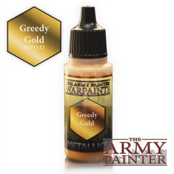 The Army Painter Greedy Gold 17 ml-es metál akrilfesték WP1132