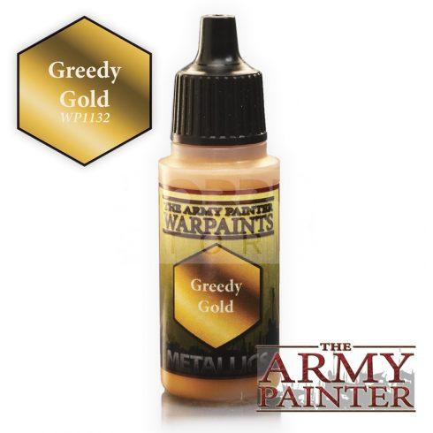 The Army Painter Greedy Gold 17 ml-es metál akrilfesték WP1132