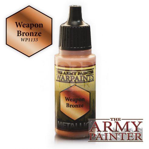 The Army Painter Weapon Bronze 17 ml-es metál akrilfesték WP1133