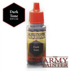 The Army Painter QS Dark Tone Ink 17 ml-es akril bemosó WP1136