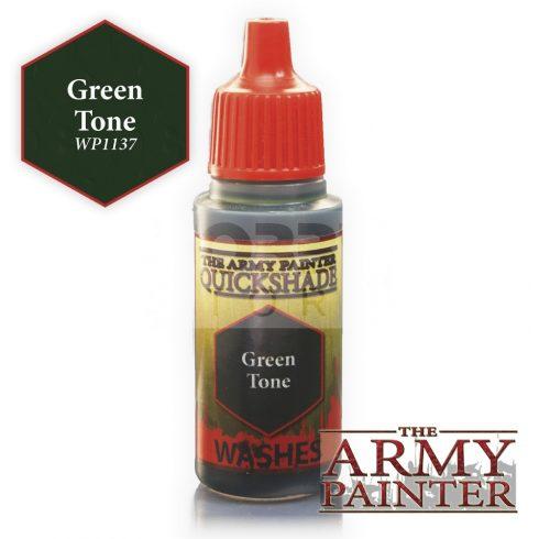 The Army Painter QS Green Tone Ink  17 ml-es akril bemosó WP1137