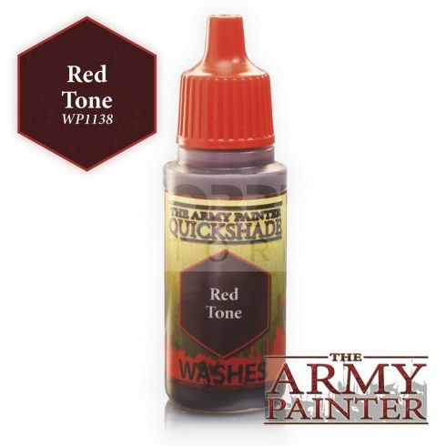 The Army Painter QS Red Tone Ink 17 ml-es akril bemosó WP1138
