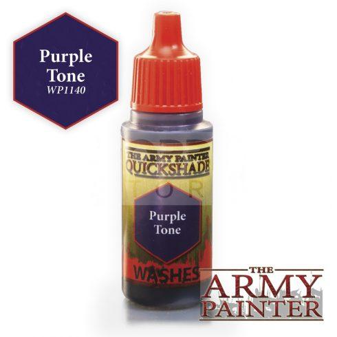 The Army Painter QS Purple Tone Ink 17 ml-es akril bemosó WP1140