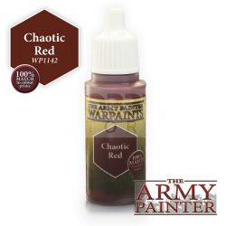 The Army Painter Chaotic Red 17 ml-es akrilfesték WP1142