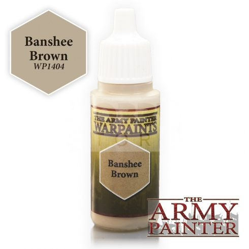The Army Painter Banshee Brown 17 ml-es akrilfesték WP1404