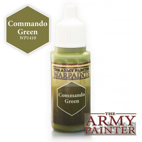 The Army Painter Commando Green 17 ml-es akrilfesték WP1410