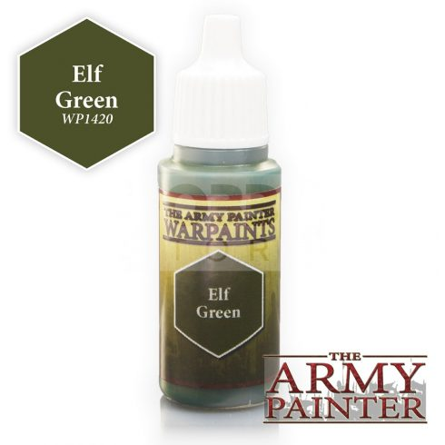 The Army Painter Elf Green 17 ml-es akrilfesték WP1420