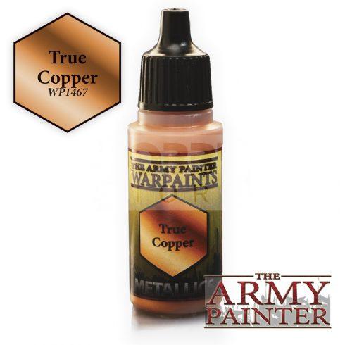 The Army Painter True Copper 17 ml-es metál akrilfesték WP1467