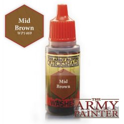 The Army Painter Mid Brown 17 ml-es akril bemosó WP1469