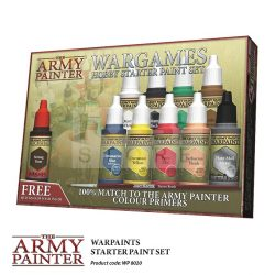 The Army Painter-Warpaints Starter Paint Set-kezdő festék készlet WP8020